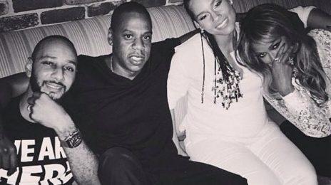 Hot Shot: Beyonce & Jay Z Chill With Alicia Keys & Swizz Beatz