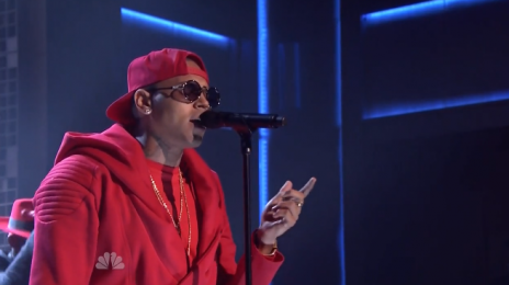 Did You Miss It?:  Chris Brown Blazes 'The Tonight Show' Stage With 'Loyal' [Video]