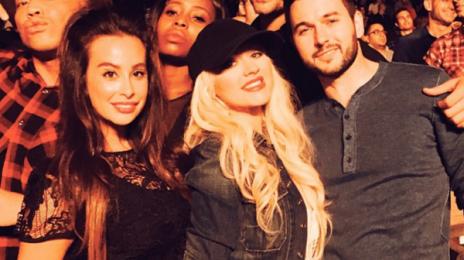 Hot Shots: Christina Aguilera Attends Drake & Lil Wayne Concert