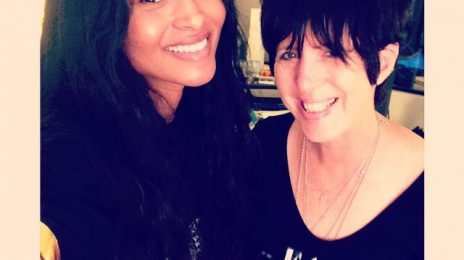 Hot Shot: Ciara Hits Studio With Diane Warren