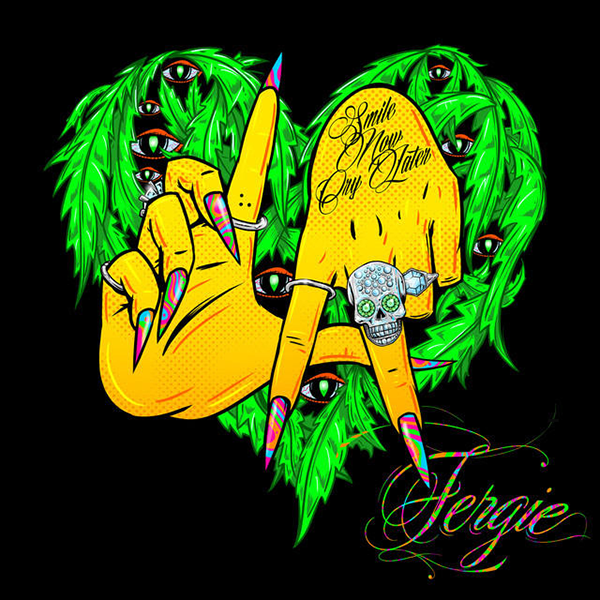 fergie la la love thatgrapejuice Fergie Reveals L.A Love (La La) Single Cover