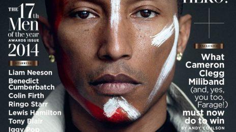 Pharrell Williams Goes Tribal For 'GQ'