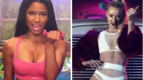 Chart Check:  Nicki Minaj & Iggy Azalea Continue Tight Grips On Hot 100