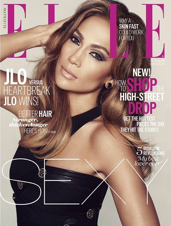 Hot Shot: Jennifer Lopez Covers 'Elle' Magazine - That Grape Juice ...