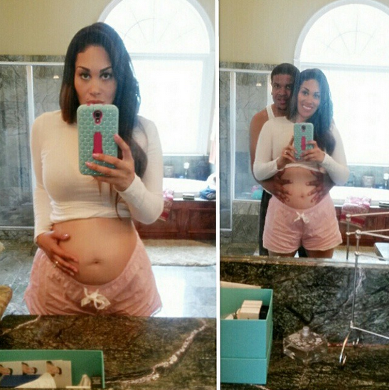 keke wyatt - pregnant - baby #8