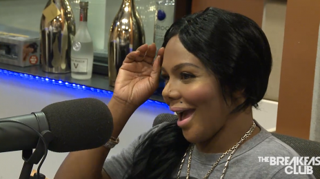 """Watch: Lil Kim Hits 'The Breakfast Club' / Blasts """"Nutty"""" K.Michelle & Claims Nicki Minaj Is Obsessed With Her"""