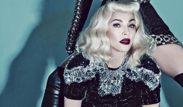 madonna that grape juice 2014 90 600x352 Madonna Collaborates With Another Major Voice On New Album?