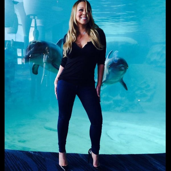 mariah carey 1 tgj thatgrapejuice 600x600 Hot Shots: Mariah Careys Mommy Time With Monroe & Moroccan