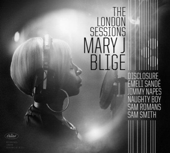 mary j blige london sessions thatgrapejuice Mary J. Blige Unwraps The London Sessions Album Cover & Release Date
