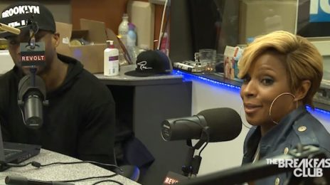 Watch: Mary J. Blige Talks New Music On 'The Breakfast Club'