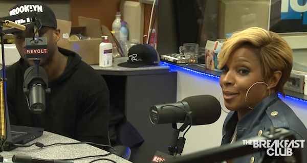 mary j blige tbc thatgrapejuice Watch: Mary J. Blige Talks New Music On The Breakfast Club