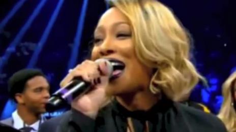 Watch:  Monica Performs U.S. National Anthem At Mayweather/Maidana Fight