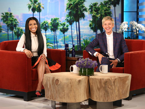 nicki ellen thatgrapejuice Did You Miss It?:  Nicki Minaj Drops By Ellen / Weighs In On Anaconda Spoof