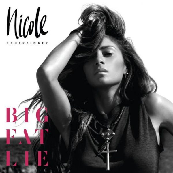 nicole scherzinger big fat lie thatgrapejuice1 600x600 Nicole Scherzinger Announces New Album Big Fat Lie / Reveals Cover
