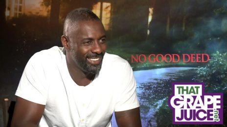 Exclusive Interview: Idris Elba & Taraji P. Henson Dish On 'No Good Deed'
