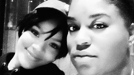 #R8: Rihanna Hits Studio With Ester Dean