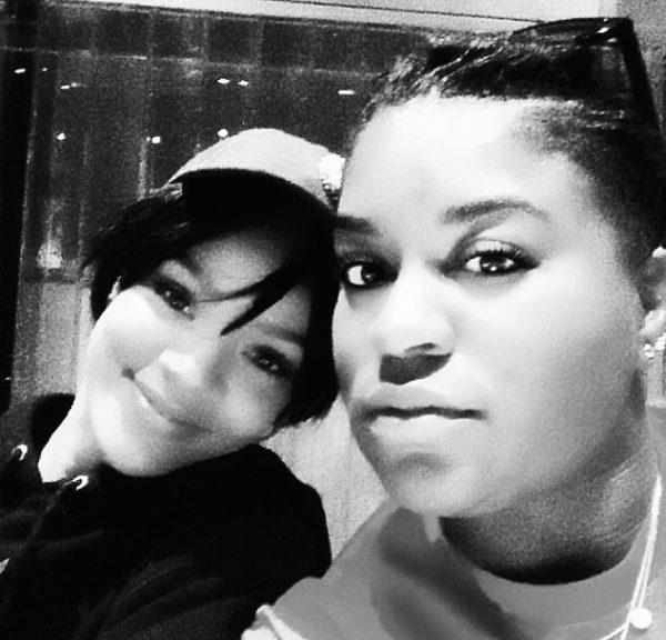 rihanna ester dean thatgrapejuice 600x576 #R8: Rihanna Hits Studio With Ester Dean