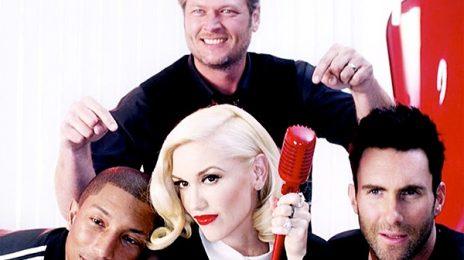 Watch:  Gwen Stefani & Pharrell Rock 'The Voice' With 'Hella Good' (Video)