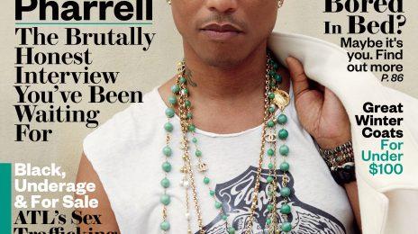 Pharrell Williams Covers EBONY Magazine / Professes Love For Black Women