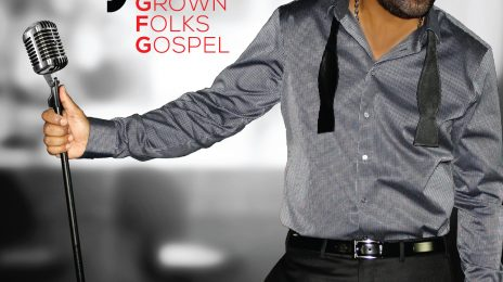 Hot Shot:  Gospel Hitmaker J. Moss Unveils New 'Grown Folks Gospel' Album Cover *Exclusive*