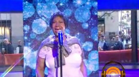 Watch: Aretha Franklin Performs 'At Last' On The Today Show