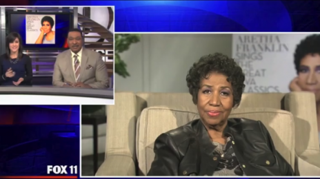 Hilarious: Aretha Franklin Battles Through Tech Glitches During Press Junket