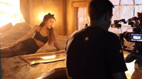 Behind The Scenes: Ariana Grande - 'Love Me Harder (ft. The Weeknd)' Video
