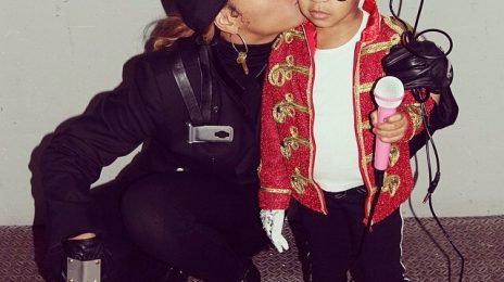 Hot Shot: Beyonce Dresses Blue Ivy As Michael Jackson For Halloween