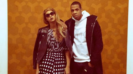 Hot Shot: Beyonce & Jay Z Pose It Up In London