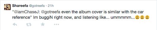 chase j shareefa keyshia cole that grape juice Point of No Return: Shareefa Accuses Keyshia Cole Of Copying Album Title