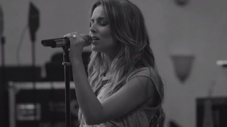 Yikes! Cheryl Cole Continues Vocal Assault With Acoustic Performance Of 'Only Human'