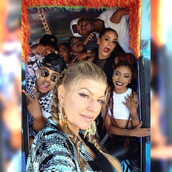 fergie la love 2 thatgrapejuice 600x600 Hot Shots: Fergie Shoots L.A Love (La La) Video