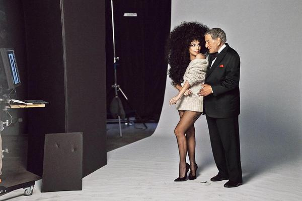 gaga hm 2 thatgrapejuice Lady GaGa & Tony Bennett Beam In New H&M Holiday Campaign / Preview Commercial