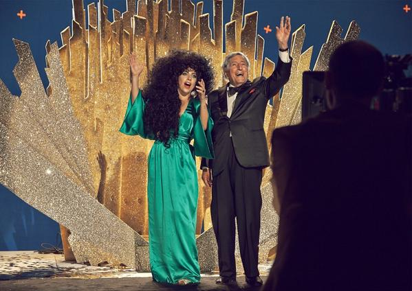 gaga hm 4 thatgrapejuice Lady GaGa & Tony Bennett Beam In New H&M Holiday Campaign / Preview Commercial