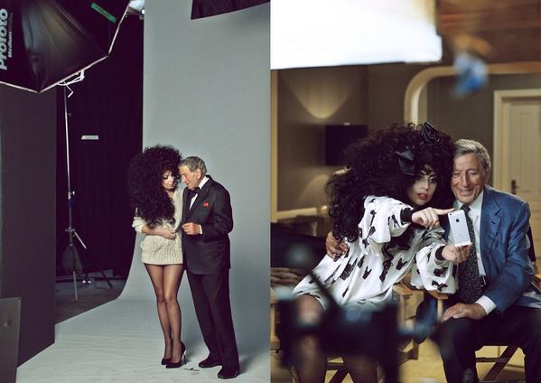 gaga hm 5 thatgrapejuice Lady GaGa & Tony Bennett Beam In New H&M Holiday Campaign / Preview Commercial