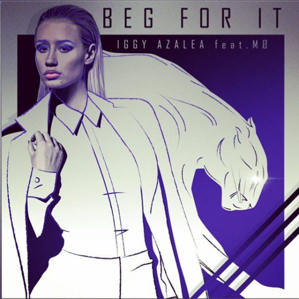 iggy azalea beg for it thatgrapejuice 600x600 New Song: Iggy Azalea   Beg For It (ft. MØ)