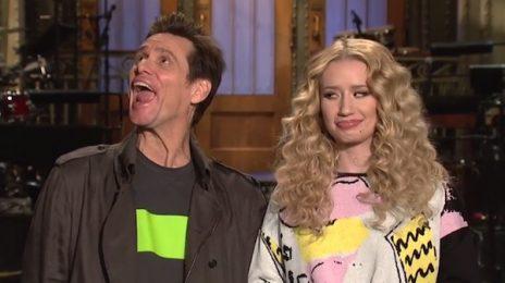 Watch: Iggy Azalea & Jim Carrey Star In 'Saturday Night Live' Promos