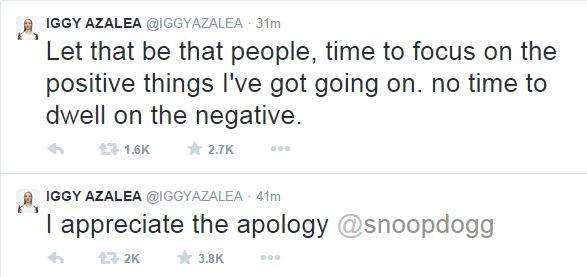 iggyazalea thatgrapejuice Watch:  Snoop Dogg Issues Apology To Iggy Azalea / Azealia Banks Weighs In