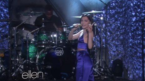 Watch: Jessie J Belts 'Bang Bang / Burnin' Up' Medley On 'Ellen'