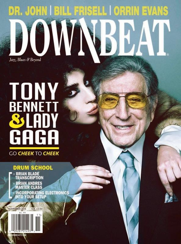 lady gaga downbeat 1 thatgrapejuice Lady GaGa & Tony Bennett Cover Downbeat Magazine