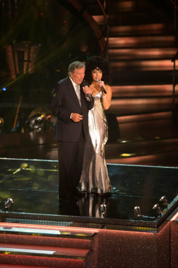 lady gaga strictly come dancing 600x900 Watch: Lady GaGa & Tony Bennett Perform On BBCs Strictly Come Dancing
