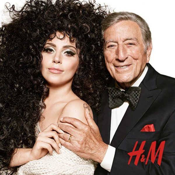 lady gaga tony bennett hm thatgrapejuice 600x600 Lady GaGa & Tony Bennett Beam In New H&M Holiday Campaign / Preview Commercial