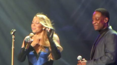 Watch: Mariah Carey Performs 'I'll Be There' At 'Elusive Chanteuse Show'