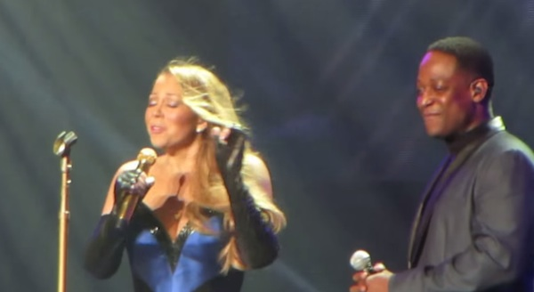 mariah carey elusive show thatgrapejuice Watch: Mariah Carey Performs Ill Be There At Elusive Chanteuse Show