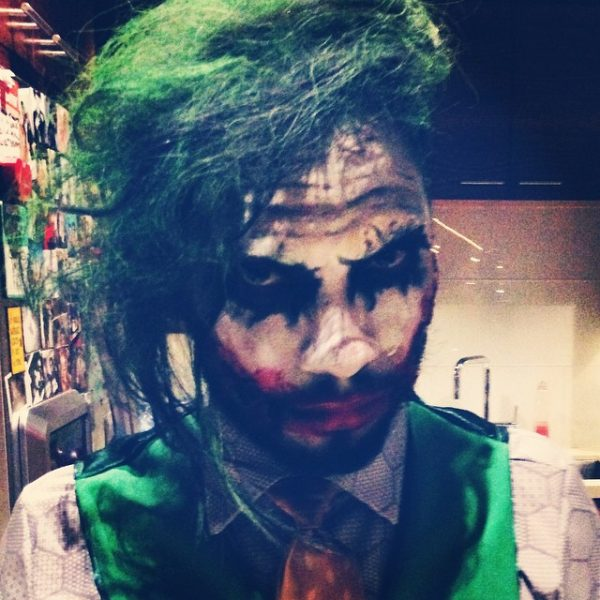 miguel batman joker halloween thatgrapejuice 600x600 A Hollywood Halloween 2014: Who Had the Best Costume?