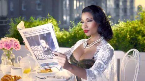 Watch: Nicki Minaj Goes Global In New 'MTV EMA' Promo
