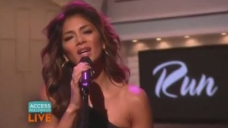 Watch: Nicole Scherzinger Performs 'Run' On 'Access Hollywood'