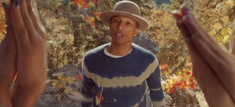 New Video: Pharrell Williams - 'Gust Of Wind'