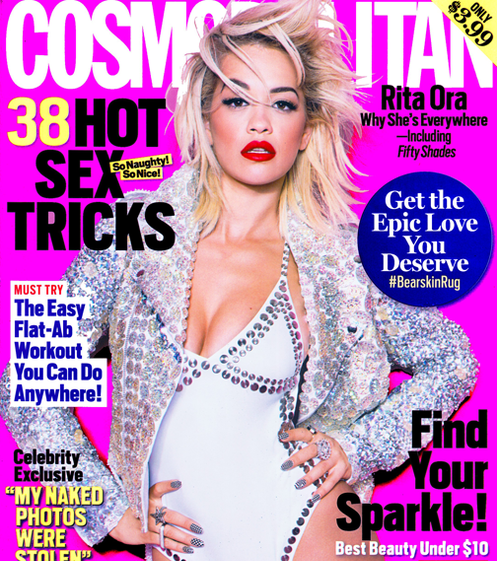 rita ora cosmopolitan that grape juice1 Rita Ora Talks Katy Perry, Calvin Harris & Iggy Azalea In Cosmopolitan