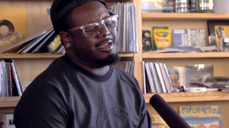 Watch: T-Pain Sings Without Auto-tune For NPR's Tiny Desk Concert Series